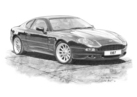 DB7 6 Cylinder Black & White