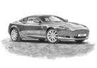 DB9 Black & White