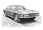 Aston Martin DBS 6 cylinder Black & White
