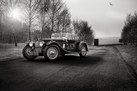 Aston Martin 2 Litre Sport - Black and White