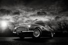 Aston Martin DB5 - Black and White (Signed, Limited Edition)