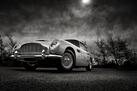Aston Martin DB5- Black and White