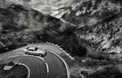 Aston Martin DB5 - Black and White