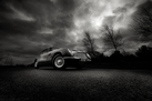 Aston Martin DB6 - Black and White (Signed, Limited Edition)