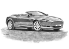 DB9 Volante Black & White