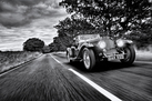 Aston Martin 2 Litre Sport - Black and White