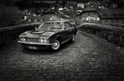 Aston Martin DBS - Black and White