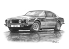AM V8 Series 5 Black & White