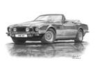 AM V8 S5 Volante Black & White