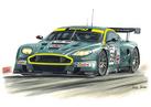 Aston Martin DBR9 Le Mans
