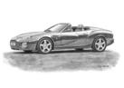 DB7 AR1 Roadster Black & White