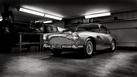 Aston Martin DB4 - Black and White