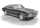 DBS V8 Coupe Black & White