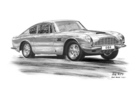 DB6 Series II Black & White