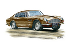 DB6 Series II Personalised Prints