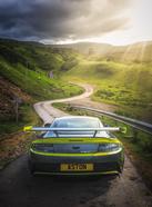 GT8 On The Road to Faerie Glen, Skye.