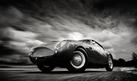 Aston Martin DB4GT Zagato - Black and White